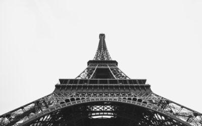 Gamle og nye fotografier af Paris